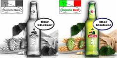 Hellgelb füllt dieser alkoholfreie Bier-Genuss das Glas. Hier klicken: http://blogde.rohinie.com/2013/02/bier/ #Italien #Bier #alkoholfrei