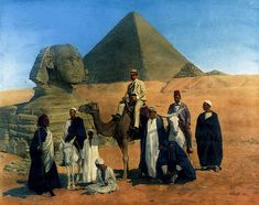Egypt , Old Cairo Paintings: Alois Stoff - Austrian ,1846 -1902 - In Search Of The Pharaohs , 1906