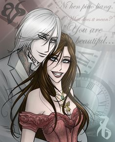 Jem and Tessa, The Infernal Devices by erryCherry.deviantart.com on @deviantART