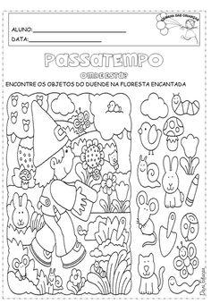 Atividades Dia das Crianças para imprimir. – Educação e Transformação