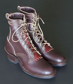 Nick's Custom Boots Contender #menswear #ankleboots