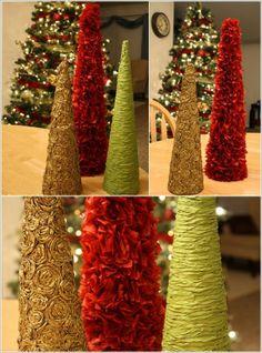 decorume rboles de navidad originales y fciles de hacer arboles navideos pinterest decoracin y navidad