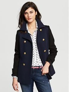 50% OFF now. Black Double-Breasted Coat. http://bananarepublic.gap.com/browse/product.do?cid=87049&vid=1&pid=932559002