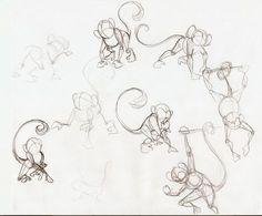 monkey sketches - Google Search