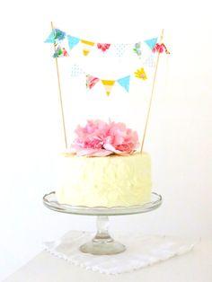 cute cake bunting