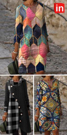 Diy Fashion, Fashion Dresses, Fashion Looks, Womens Fashion, Fashion Design, Fashion Trends, Ladies Fashion, Fashion Online, Dress Up Wardrobe
