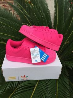 Adidas Superstar Pink Skateboarding Shoes #adidas #Trainers