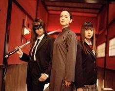 Kill Bill. Julie Dreyfus and Chiaki Kuriyama as Sophie Fatale and Go Go Yubari