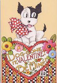 Mary Engelbreit Valentine Postcard