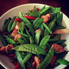 Nourish: Turkey Tenderloin Stir Fry