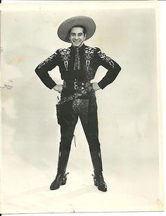 Original Cisco Kid Duncan Renaldo Vintage Press Photo