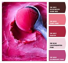 Paint colors from Chip It!