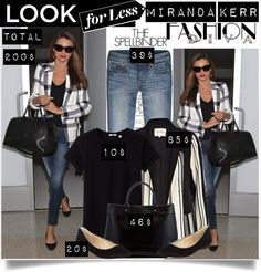 """Get the look - Miranda Kerr"" by lidia-solymosi ❤ liked on Polyvore"