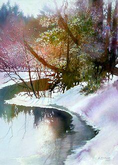 Sun on the River by Nita Engle