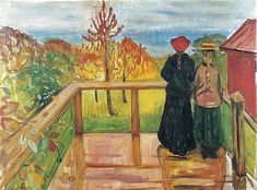 Worker and Child - Edvard Munch - WikiArt.org