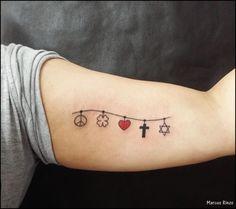 13 Fotos de Tatuagens de Trevo - Mundo das Tatuagens