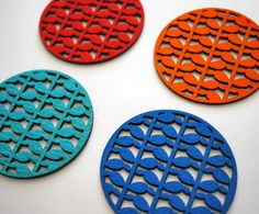 laser cut coasters