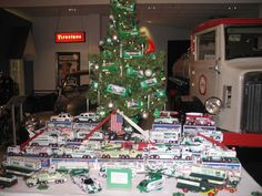 If you're a #Hess Truck Collector than you need to come by the #AACA Museum for our Christmas display and see all of our #Hess collectibles.