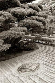 Ginkaku-ji garden, Kyoto, Japan