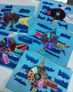 Un polsim de sal: Més peixos a la tapa de l'àlbum. Tapas, Gift Wrapping, Crafts, Albums, Dish, Animal, Summer, Early Education, Diy Creative Ideas