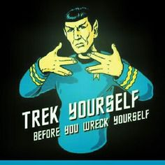 I'm not much of a Trekkie, (in fact, I'm not one at all) but this is funny!! :D