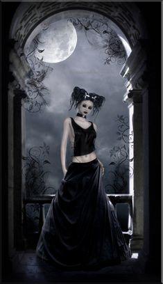 -Gothic Rose- by BlackRibbonRose on deviantART