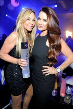 LBDs: check, vodka: check … Real Housewives Kyle Richards and Adrienne Maloof were spotted partying all Grammy weekend long.