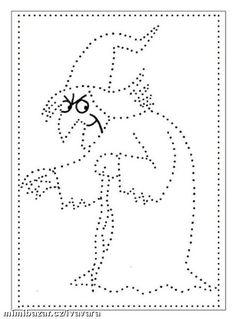 Blíží se den čarodějnic, vkládám pro menší děti,prvňáčky a všechny šikulky pracovní listy s tímto t...