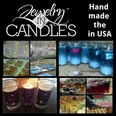 Jewelry in Candles - Made in the USA