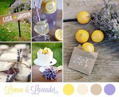 10 palette per un matrimonio in primavera
