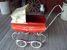 I would need a vintage doll pram