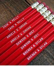 Teenage Power Couple Pencils : Greenwich Letterpress
