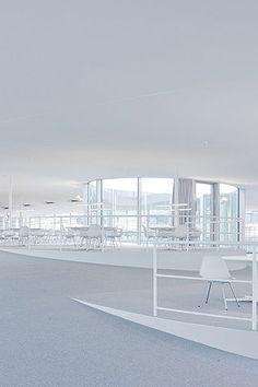 Rolex Learning Center  Lausanne Switzerland  2010  SANAA by Iwan Baan