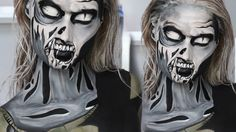 The Walking Dead Comic Zombie Makeup Tutorial