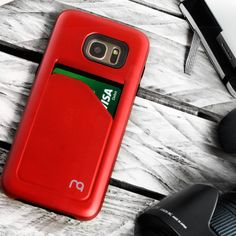 Matchnine Pocketcard Red Galaxy S7 Edge Case
