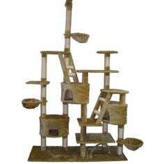"""You'll love the 92"""" Play Center Cat Tree at Wayfair - Great Deals on all Pets  products with Free Shipping on most stuff, even the big stuff."""
