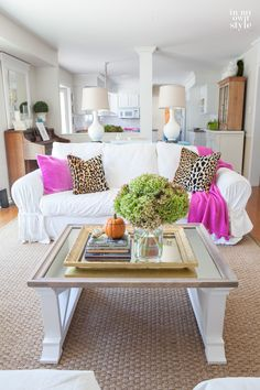 Decorate for Fall with Whites | In My Own Style