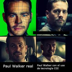 Furious 7 Created A Digital Paul Walker To Complete The Movie, The Fake Is Chillingly Real Paul Walker has been created in cyberspace and the result is scary real Paul Walker Cgi, Paul Walker Family, Cody Walker, Furious Movie, The Furious, Fast And Furious, Jessy James, Actors & Actresses, Movie Tv