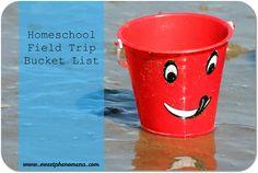 Homeschool Field Trip Bucket List   @SweetPhenomena   #Homeschool