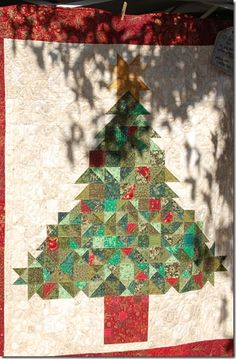 Do I need one more Christmas quilt?  Yes, yes I do!