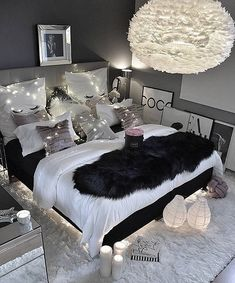 "8 Teen Bedroom Theme Ideas That's So Great! - Hoomble,Teens have unique ideas of what they consider as ""cool bedrooms."" Teen bedroom themes reflect things such as their personalities, aspirations, and ide. Gray Bedroom, Bedroom Inspo, Modern Bedroom, Black Bedroom Decor, Bedroom Inspiration, Bedroom Rustic, Decor Room, Master Bedrooms, Sophisticated Teen Bedroom"