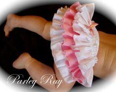Hermosa Parley Ray Minnie rosa lunares con volantes por ParleyRay