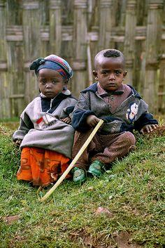 Dorze Children from Ethiopia