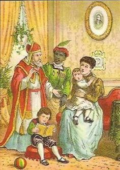 Sinterklaas is in het land.