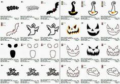 Halloween - Stickideen