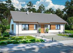 Simple House Plans, Simple House Design, Modern House Design, Wooden Pallet Furniture, Facade House, Home Fashion, Planer, Tiny House, Garden Design