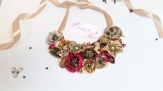 Colier floral - Autumn  Necklace