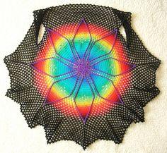 """Cotton """"LAXMI"""", The Doily Style Waistcoat by babukatorium, via Flickr"""