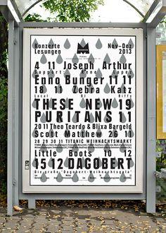 Lots of typographic design