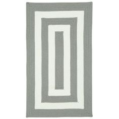 "Capel Willoughby Beige Striped Outdoor Area Rug Rug Size: Concentric Runner 2'3"" x 9'"